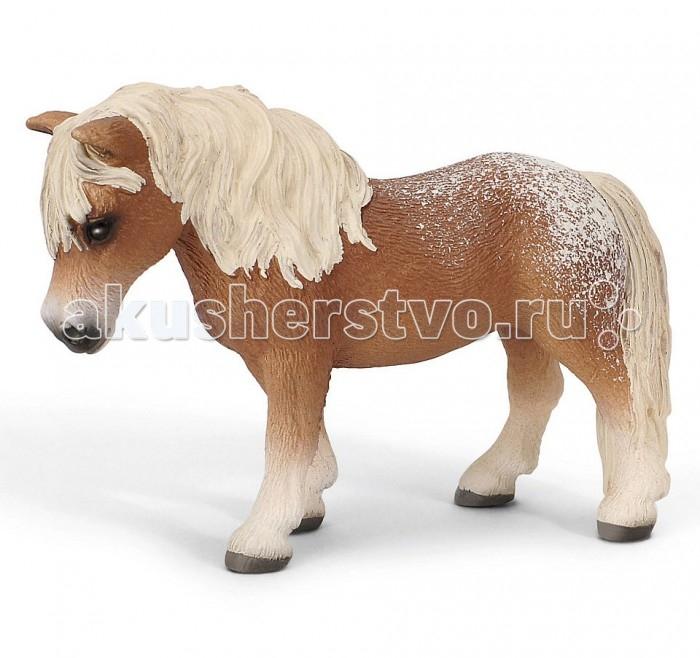 Schleich Игровая фигурка Кобыла ФалабеллаИгровая фигурка Кобыла ФалабеллаФалабелла — порода самых маленьких лошадок в мире, которая была выведена в Аргентине семьей Фалабелла, в честь которой и была названа. Отличаются эти лошади от других скакунов довольно небольшим ростом – 40-75 сантиметров при весе от 20 до 60 килограмм. При этом представители породы фалабелла имеют пропорциональное, изящное сложение – крупная голова, на один-два ребра меньше чем у других пород, тонкие ножки, маленькие копытца, красивые хвост и грива. В таких лошадках бесперебойным потоком пульсирует энергия. Ими не устаешь любоваться.  Все это внешнее описание превосходно передает пластмассовая фигурка от Schleich. Выполненная добросовестно, при соблюдении даже малейших подробностей, да к тому же еще раскрашенная вручную, она является отличной копией для своего чудесного оригинала. Кстати, игрушка тоже не отличается большими размерами – она с легкостью разместиться на ладони.  Собирая фигурки животных компании Schleich ваш любимый ребенок с легкостью сможет открыть домашний зоопарк.<br>