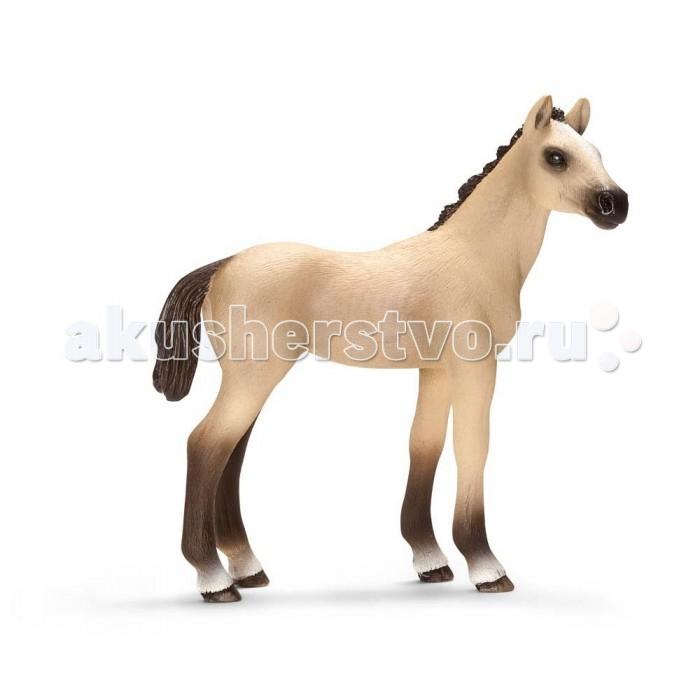 Schleich Игровая фигурка Ахалтекинский жеребенок Домашние животныеИгровая фигурка Ахалтекинский жеребенок Домашние животныеАхалтекинские лошади обладают поистине величественной осанкой, это благородные лошади с выразительными глазами. Лошади имеют светлый окрас металлического отлива. Благодаря своей  выносливости эта порода часто используется, как лошадь для больших расстояний.  В серии Домашние животные представлены все животные, которые окружают нас дома или на даче. С помощью отдельных элементов можно создавать целые фермы.  Очень широко представлена коллекция лошадей. Все фигурки выполнены из высококачественных материалов с максимальной точностью и раскрашены в ручную. Не вызывает аллергии. Великолепно выполненные и раскрашенные вручную животные, созданные при тесном сотрудничестве с Берлинским зоопарком, никого не оставят равнодушными. В разработке каждой фигурки компания Schleich опирается на исследования в области педагогики, создавая маленькие произведения для маленьких ручек.<br>