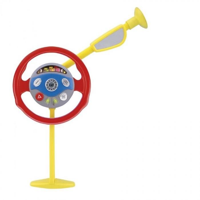 Xiong Cheng Игровой набор Тренажер юный водительИгровой набор Тренажер юный водительXiong Cheng Игровой набор Тренажер юный водитель - интерактивный игровой набор для детей старше 3 лет. Малыш сможет почувствовать себя настоящим водителем: устанавливайте опору, крепите к ней руль и отправляйтесь в путь. Тренажер можно установить в настоящем автомобиле, и ребенок будет управлять им, как папа.  Особенности: элементы набора сделаны из пластика в комплект входит стойка с зеркалом заднего вида и руль стойка собирается из двух частей: одна с упором в пол, вторая на присоске на руле есть кнопки управления и клаксон во время игры на руле мигают лампочки<br>