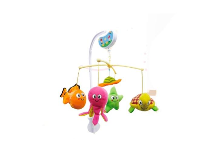 Мобиль Biba Toys Музыкальный Зверята