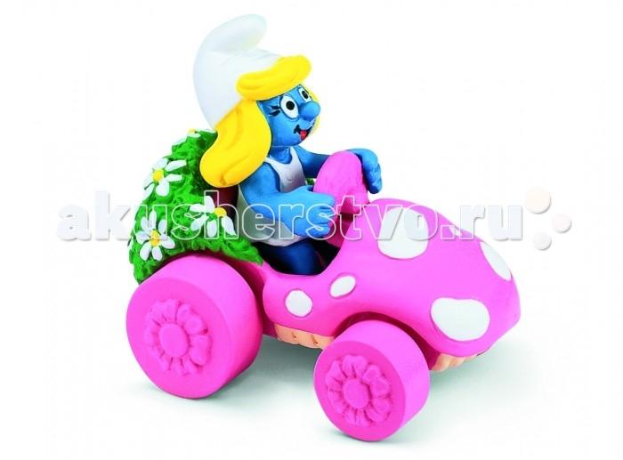Schleich Игровая фигурка Гномик в розовой машинкеИгровая фигурка Гномик в розовой машинкеПеред вами еще одно из чудес смурфотехники: настоящий смурфомобиль для смурфодевочек. Розовый автомобиль имеет нечто общее с лесным грибом, а его удобное кресло украшено отделкой из мха и цветов – очаровательно!   Смурфы – забавные существа, придуманные бельгийским художником в самом начале шестидесятых годов в качестве персонажей комикса, но вскоре стали очень популярны и завоевали признание по всему миру. По мотивам приключений Смурфов создано несколько мультипликационных фильмов и многочисленное количество пародий разного сорта. Существа с кожей нежно-голубого цвета не теряют своей популярности по сей день.<br>