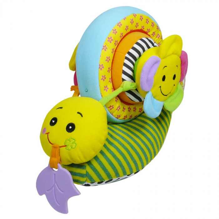 Развивающая игрушка Biba Toys Улитка конструкторУлитка конструкторBiba Toys Развивающая игрушка Улитка конструктор  Яркая развивающая многофункциональная игрушка С погремушкой, прорезывателем, элементами шуршания Состоит из нескольких частей Собирая и разбирая игрушку ребенок развивает мышление, моторику рук Размер: 62 x 53 x 23 см<br>