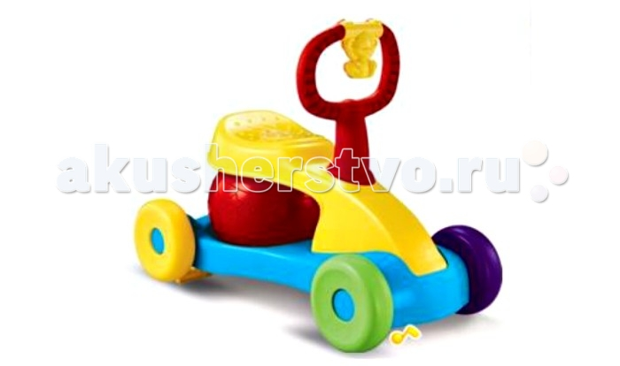 Каталка S+S Toys Игрушка для малышей Bambini Мотоцикл со звуком