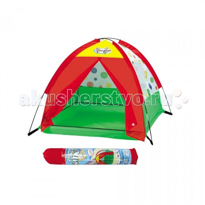 Yongjia Детская игровая Красивая палаткаДетская игровая Красивая палаткаДетская игровая Красивая палатка  замечательно подходит как для игр в помещении, так и для летнего отдыха детей за городом, на даче или пикнике. Изготовлена из экологически чистого, водонепроницаемого, дышащего материала. Игровая палатка - отличное место для самостоятельной или групповой сюжетно-ролевой игры. Выполнена из текстильных материалов на металлическом каркасе. Легкая, прочная палатка, легко стирается и удивительно проста в сборке.  Основные характеристики:  Размер палатки: 118 х 119 х 92 см Вес: 0,89 кг<br>