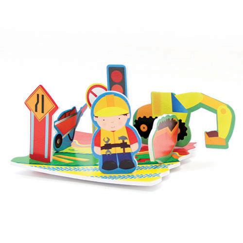 Lubby Набор игрушек Дорога приключенийНабор игрушек Дорога приключенийLubby Набор игрушек Дорога приключений поможет развить фантазию ребенка. В комплекте дорожное полотно, которое не тонет и держится на поверхности воды. В него можно вставить различную технику, знаки дорожного движения и множество других элементов, тем самым, создав приключенческую историю.   Игрушка многоразовая. Вода не является клеем! Специальная упаковка набора игрушек в сеточку с присосками поможет аккуратно хранить изделие в ванной комнате. Это товар 2 в 1. Игрушка и сеточка для хранения!   В наборе: дорога, которая не тонет экскаватор дорожный работник  14 элементов  Размер игрушки: 24х5х30 см<br>