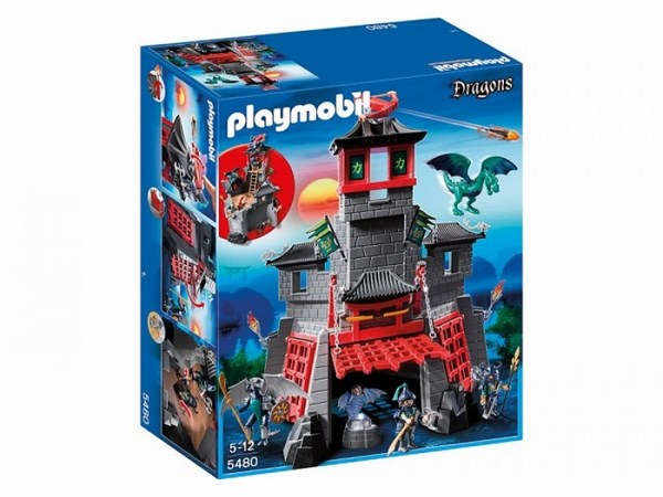 Игровые наборы Playmobil Игровой набор Азиатский дракон: Секретный форт Дракона