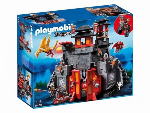 Игровые наборы Playmobil Игровой набор Азиатский дракон: Восточный замок с золотым Драконом