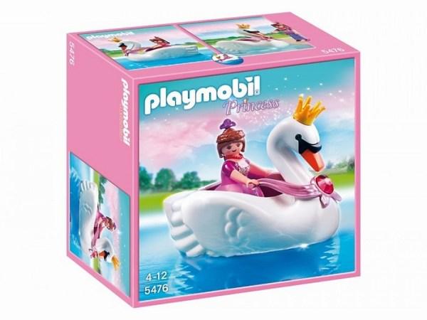 Игровые наборы Playmobil Игровой набор Замок кристалла: Принцесса на лодке-лебеде