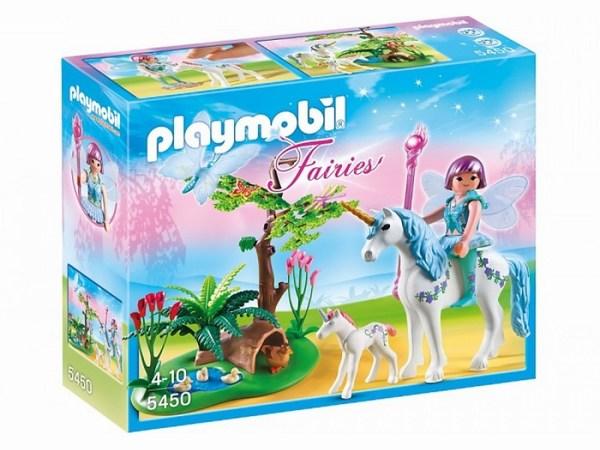 Игровые наборы Playmobil Игровой набор Фея Акварелла на лугу с Единорогом
