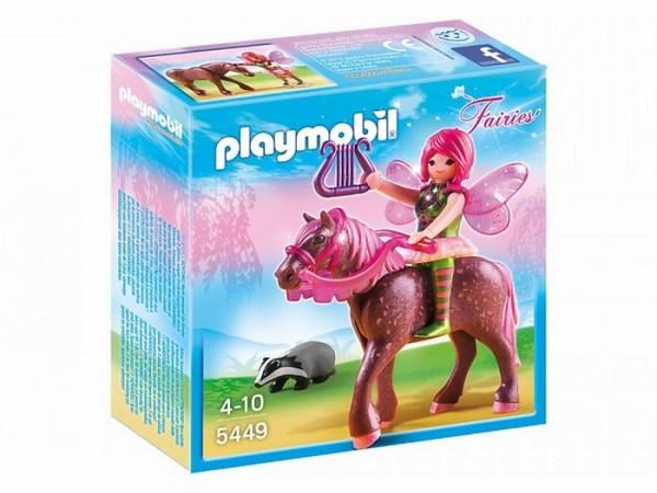 Игровые наборы Playmobil Игровой набор Лесная фея Суря с лошадью