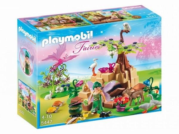 Игровые наборы Playmobil Игровой набор Фея ценитель Эликсия в диком лесу