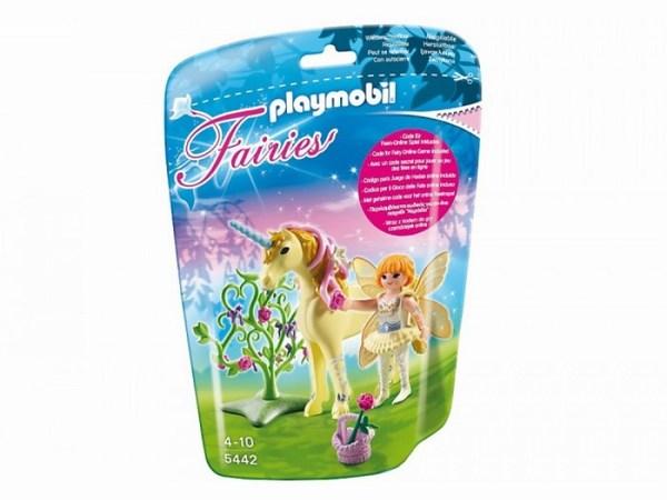Игровые наборы Playmobil Игровой набор Цветочная фея с единорогом Луч солнца