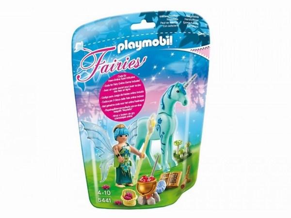 Игровые наборы Playmobil Игровой набор Фея целитель с единорогом Сапфировая ночь