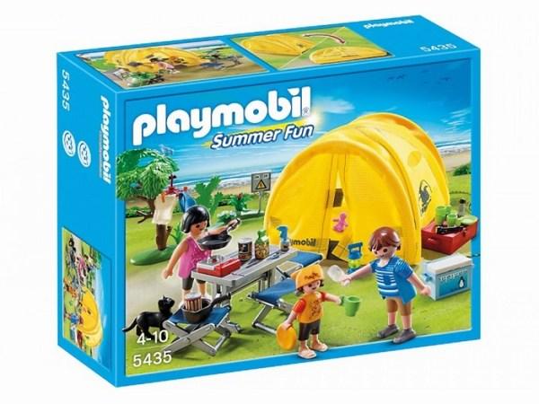 Игровые наборы Playmobil Игровой набор Каникулы: Семья и палатка