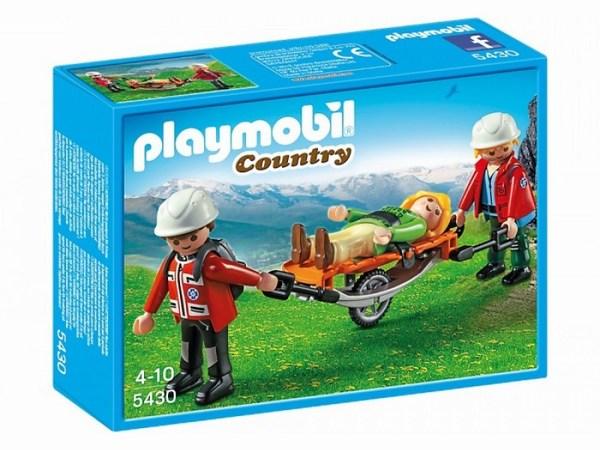 Игровые наборы Playmobil Игровой набор Спасатели с носилками