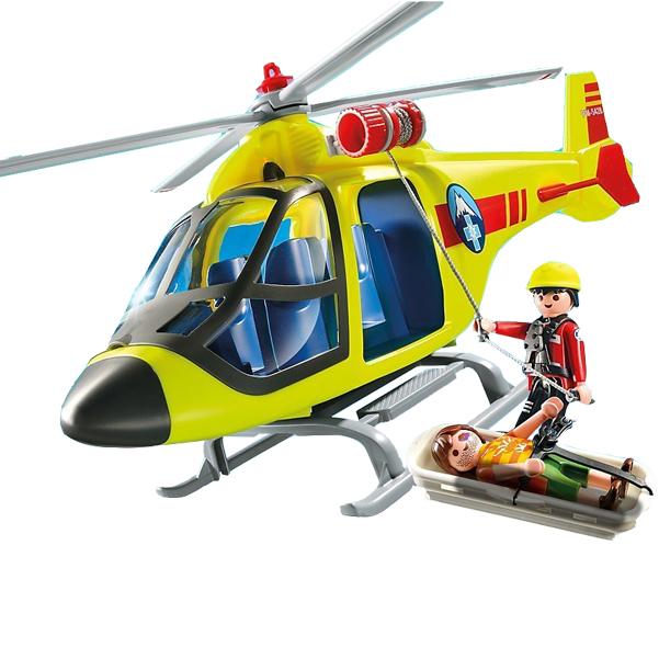 Конструктор Playmobil В горах: Спасательный вертолет
