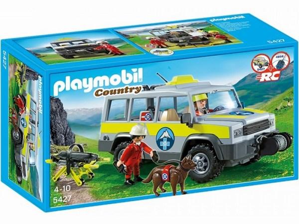 Конструктор Playmobil В горах: Спасательный грузовик