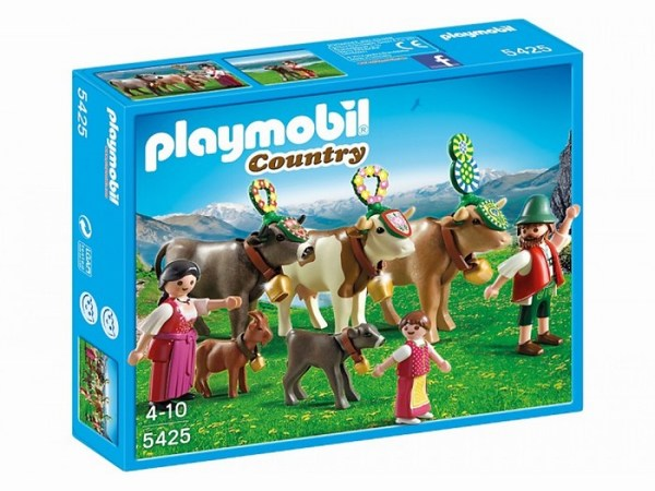 Игровые наборы Playmobil Игровой набор В горах: Альпийский фестиваль