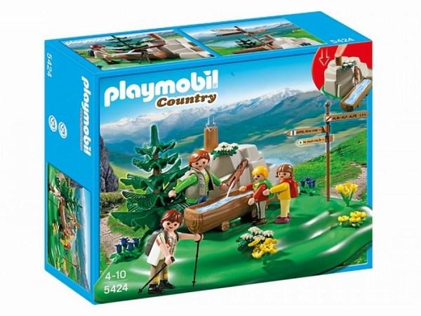 Игровые наборы Playmobil Игровой набор В горах: Семья альпинистов у горного ручья