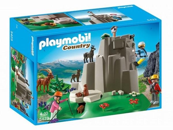 Игровые наборы Playmobil Игровой набор В горах: Скалолазы и горные животные