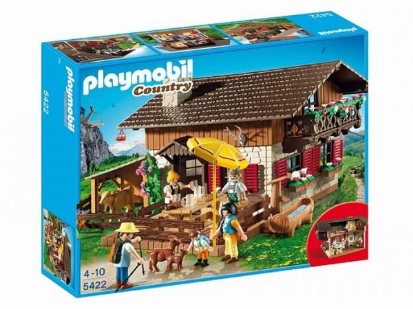 Конструктор Playmobil В горах: Дом в горах