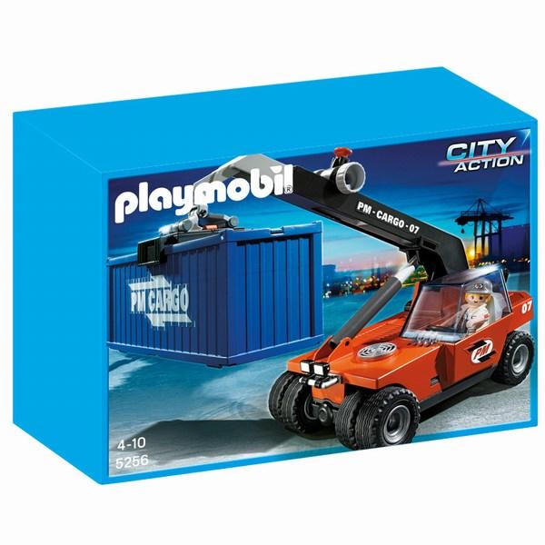 Игровые наборы Playmobil Игровой набор Порт: Грузовой подъемник с контейнером