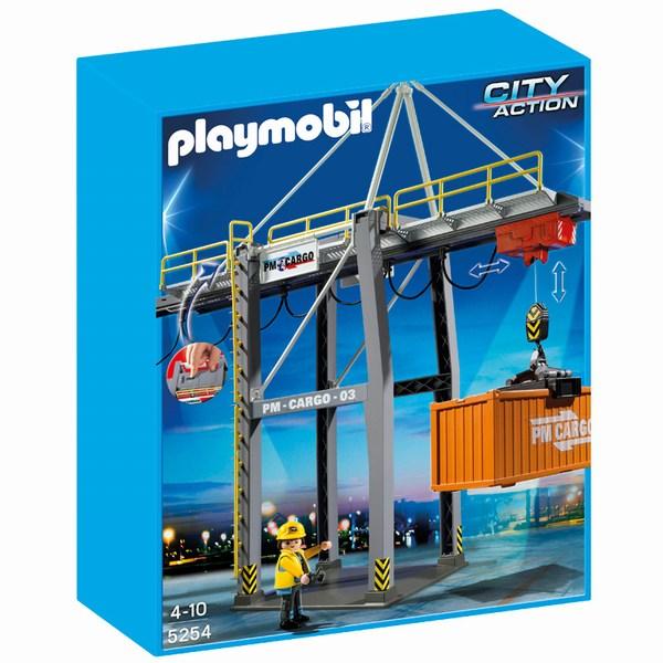 Игровые наборы Playmobil Игровой набор Порт: Погрузочный терминал