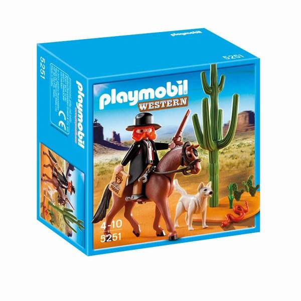 Игровые наборы Playmobil Игровой набор Дикий запад: Шериф на лошади