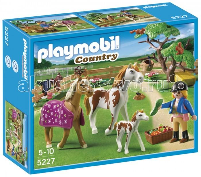 Игровые наборы Playmobil Игровой набор Лошади: Мойка для лошади с лошадью