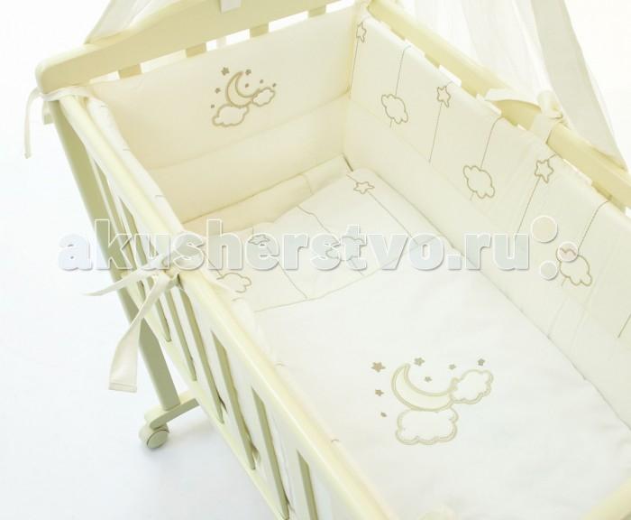 Комплект в колыбель Fiorellino Luna Elegant (5 предметов) от Акушерство