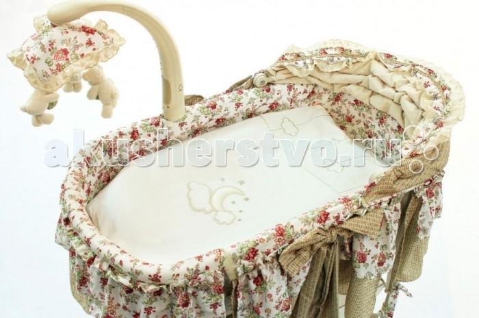 Комплект в колыбель Fiorellino Luna Elegant для электронной колыбели