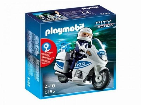 Игровые наборы Playmobil Полиция: Полицейский мотоцикл