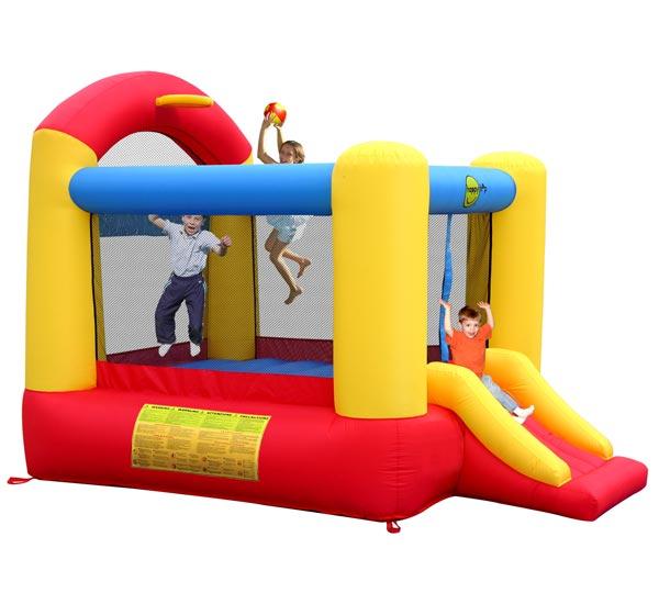 Надувные батуты Happy Hop Надувной батут с горкой Высокий прыжок 9304N