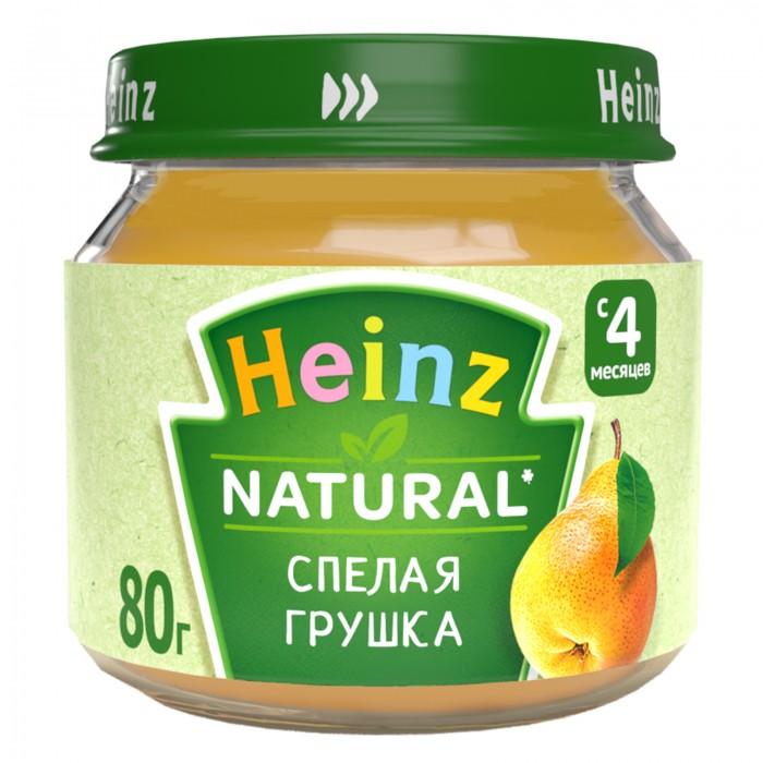 Heinz Пюре Спелая грушка с 4 мес., 80 г