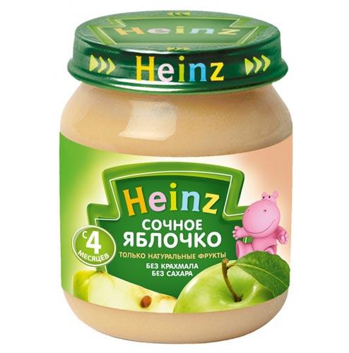 Пюре Heinz Пюре Сочное яблочко с 4 мес., 120 г