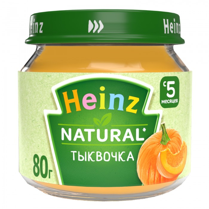Heinz Пюре Тыквочка с 5 мес., 80 г