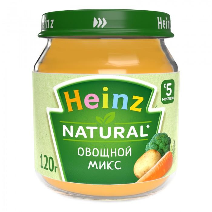 Heinz Пюре Овощной микс с 5 мес., 120 г