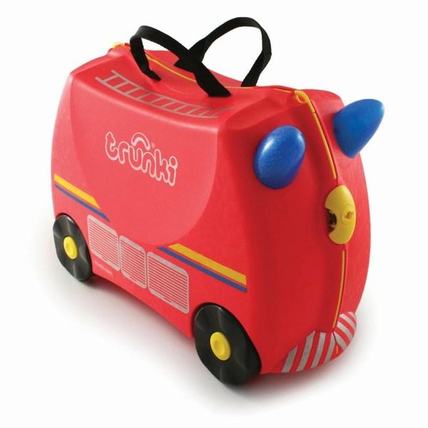 Сумки для детей Trunki Чемодан на колесах Пожарная Машина Freddie the Fire Engine