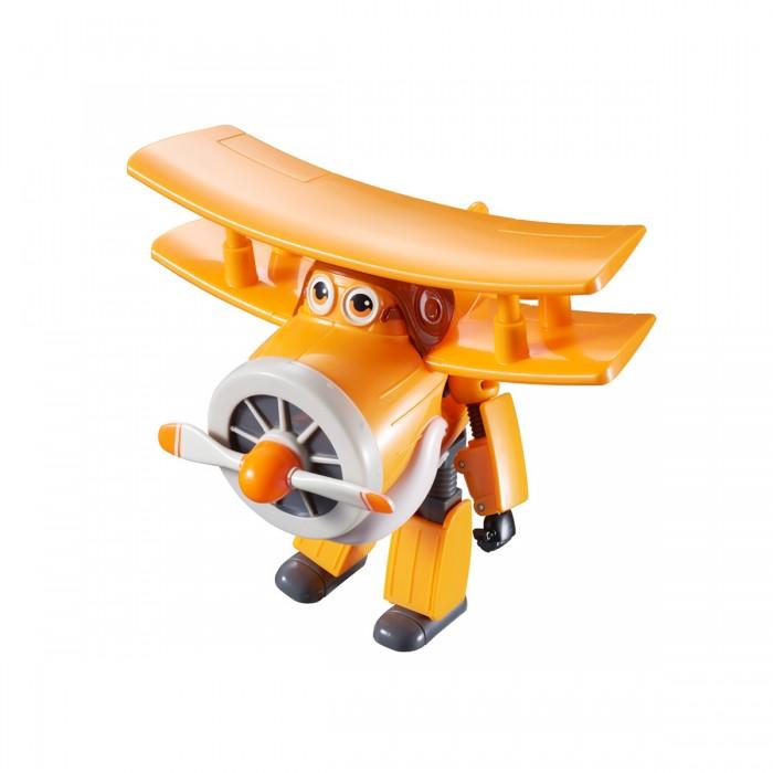 Super Wings Трансформер АльбертТрансформер АльбертSuper Wings Трансформер Альбертиз серии Супер крылья легко переходит из одной формы в другую. Это не простые летательные аппараты, а настоящие трансформеры! Соберите уникальную коллекцию самолётиков-трансформеров. Каждая модель имеет две формы: обычный летательный аппарат и бесстрашный бот-спасатель. Яркие краски и узнаваемый вид персонажей порадует всех любителей мультсериала.   Данная игрушка сделана по мотивом детского мультсериала Super Wings и в точности копирует одного из персонажей: доброго дедушку Альберта. Оранжевый самолетик с глазками и крутящимся винтом в пару шагов превращается в робота с подвижными руками и ногами. С данной игрушкой ребенок сможет почувствовать себя членом команды Джетта и осуществлять разные воздушные перевозки.<br>