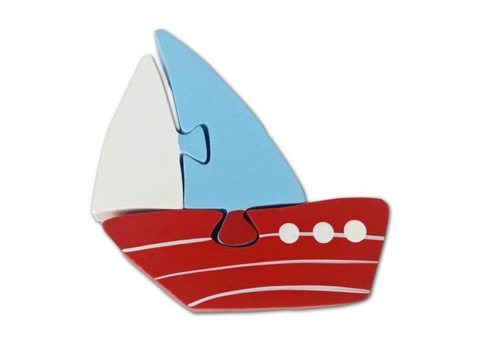 Деревянная игрушка Mapacha Пазл Кораблик