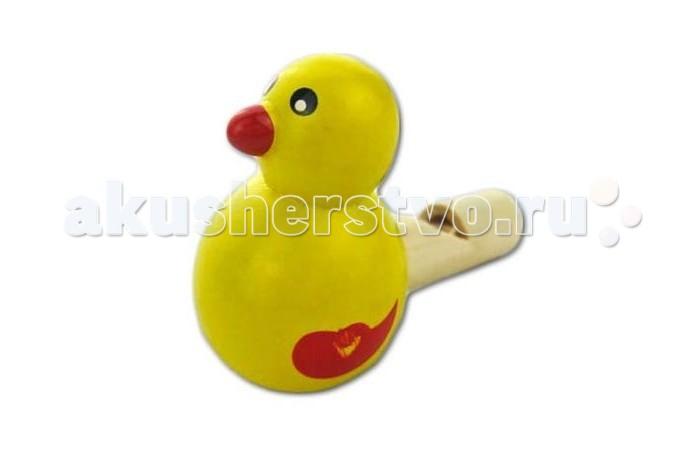 Деревянная игрушка Mapacha Свистулька УточкаСвистулька УточкаДеревянная игрушка Mapacha Свистулька Уточка несомненно понравится Вашему малышу. Маленький ребенок просто должен шуметь, стучать, дудеть или свистеть! В этом уверены многие психологи. Ведь игрушки, издающие звуки, полезны: они развивают слух, память, мелкую моторику рук, знакомят ребенка с окружающим миром, положительно влияют на психику.  Игрушка изготовлена из натурального дерева. Высота игрушки: 4 см<br>