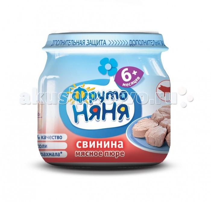 ФрутоНяня Пюре из свинины с 6 мес., 80 г