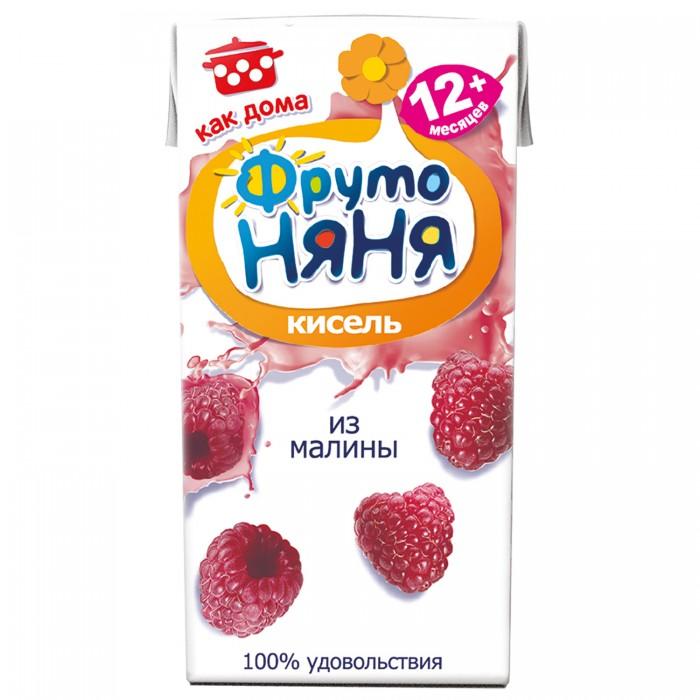 ФрутоНяня Кисель из малины с 12 мес., 200 мл (тетра пак)