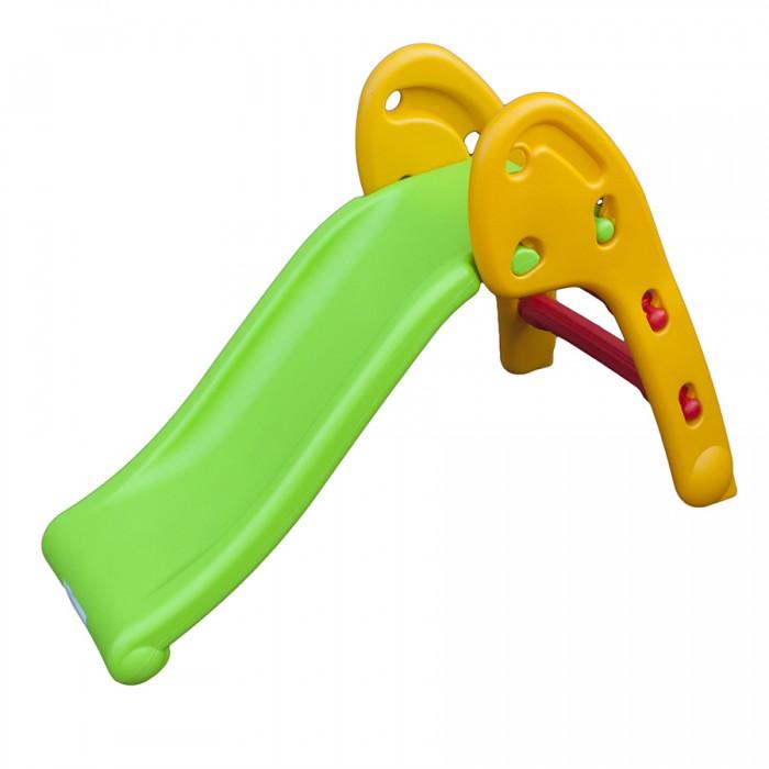 Горка QiaoQiao Мини QQ12066-6Мини QQ12066-6Qiao Qiao Мини - горка - эта небольшая яркая детская горка надолго займет Ваших малышей игрой на свежем воздухе. Горка имеет широкие ступеньки и перила, удобные для детских маленьких ручек. Конструкция горки достаточно устойчивая. Можно кататься с друзьями с горки – это любят все детки.   Активные виды игр на свежем воздухе очень полезны для здоровья малыша. Игра с мячом развивает меткость и глазомер. Катание на горке укрепит мышцы и вестибулярный аппарат.   Изготовлена детская горка из высококачественного полимера с соблюдением Европейских стандартов качества. Не имеет острых углов.   Размер: 70 х 50 х 110 см<br>