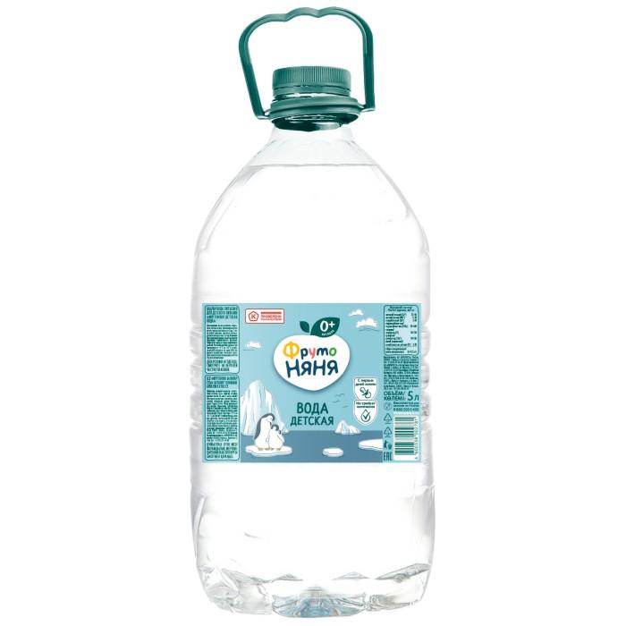ФрутоНяня Вода детская питьевая с 0 мес., 5 л