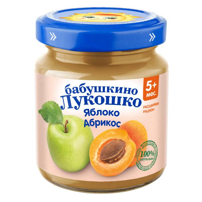 Бабушкино лукошко Пюре Яблоко, абрикос с 4 мес., 100 гПюре Яблоко, абрикос с 4 мес., 100 гБабушкино лукошко Пюре Яблоко, абрикос с 4 мес., 100 г   Яблоко - источник фруктовых кислот, железа, витамина С. Сочетание железа и витамина С способствует наилучшему всасыванию железа в кишечнике, что является профилактикой анемии. Пектины и фруктовые кислоты мягко стимулируют деятельность кишечника.  Абрикос богат витаминами С, РР, В1, провитамином А и микроэлементами которые способствуют увеличению сопротивляемости организма.   Продукт рекомендован для детей старше 4 месяцев. Пюре вводится в рацион ребенка постепенно, начиная с 1 чайной ложки, увеличивая за 5-7 дней до 60-100 г в день.   Закрытая баночка хранится 18 месяцев при температуре от 2&#186;C до 25&#186;C.  Открытую банку хранить в холодильнике не более 24 часов.  Состав:  яблочное пюре абрикосовое пюре  сахар витамин С. Без добавления консервантов, красителей и искусственных добавок.<br>