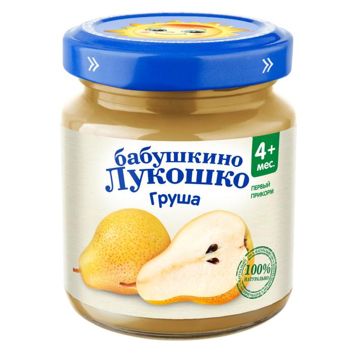 Пюре Бабушкино лукошко Пюре Груша с 3,5 мес., 100 г
