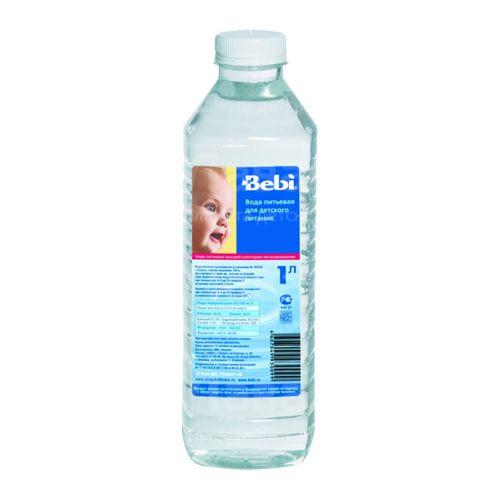 Вода Bebi Вода детская питьевая с 0 мес., 1 л