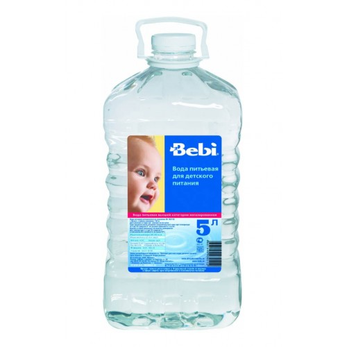 Вода Bebi Вода детская питьевая с 0 мес., 5 л
