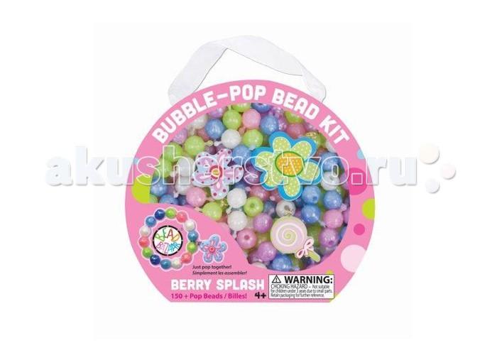 Bead Bazaar Набор Разноцветные пузыри Ягодный всплеск 278Набор Разноцветные пузыри Ягодный всплеск 278Набор Разноцветные пузыри Ягодный всплеск Bead Bazaar 278.   Девочки могут сделать разнообразные украшения, придумывая сами различные дизайны и модели. Длину изделия можно легко корректировать, так как бусины легко соединяются между собой.  В наборе 3 подвески.  В комплекте: пластиковые мягкие бусины.  Возраст: для детей от 4 лет Размер: 15,9 х 14 х 3,2 см<br>